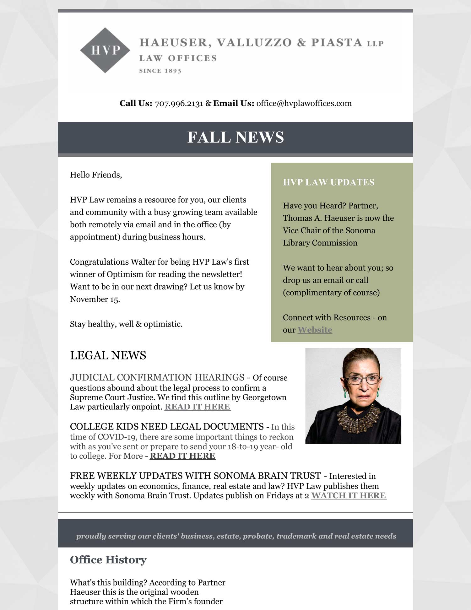 202 fall newsletter